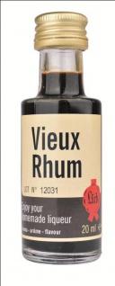 Lick vieux rhum RUM 20 ml Likörextrakt Aroma Essenz Likör selber machen Liquer