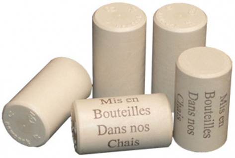 Flaschen Weinkorken Korken Kunststoff 42x22 25 Stück Wein selber machen