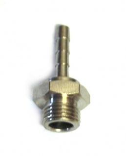 Einschraubtülle Tülle 4mm mit 1/4 Zoll AG für Co2 Druckminderer Zapfanlage