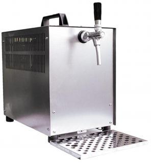 Zapfanlage Durchlaufkühler 1Lt. 60l/h Bierkoffer mit Kompensatorzapfhahn