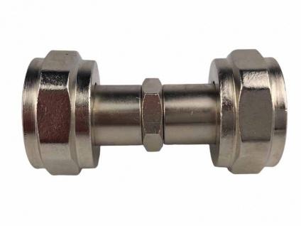 Verbinder 3/4 Zoll Innengewinde sechskant Co2 Zapfanlage Schlauch verbinden (X)