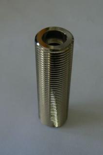 Durchgangsstutzen 10mm mit 5/8 Zoll AG 80mm Messing Gewindestutzen Zapfanlage
