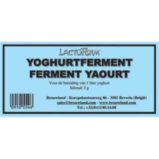 Joghurtkultur Ferment Joghurtferment 5g 1 Liter Joghurt selber machen