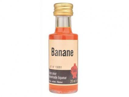 Lick Banane 20 ml Likörextrakt Aroma Essenz Likör selber machen Liquer