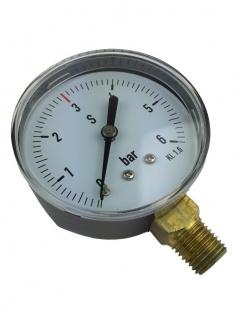 Manometer 3bar für Druckminderer reparieren Co2 Ersatzteil Zapfanlage