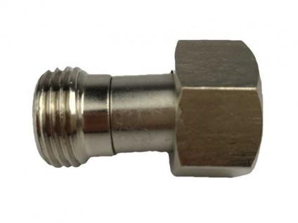 Adapter Verbinder von 5/8 Zoll IG sechskant auf 1/2 Zoll AG (X) Zapfanlage usw.