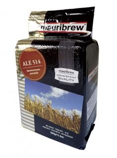 Bierhefe 500 g Mauribrew Ale 514 trocken obergärig zum Bier selber brauen