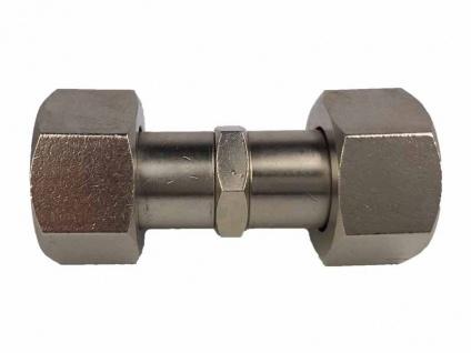 Verbinder 5/8 Zoll Innengewinde sechskant für Zapfanlage Zapfhahn(X)