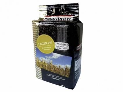 Bierhefe 500 g Mauribrew Lager 497 trocken untergärig zum Bier selber brauen
