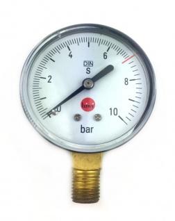 Manometer 7bar Druckminderer reparieren Schankanlage Co2 Ersatzteil Zapfanlage