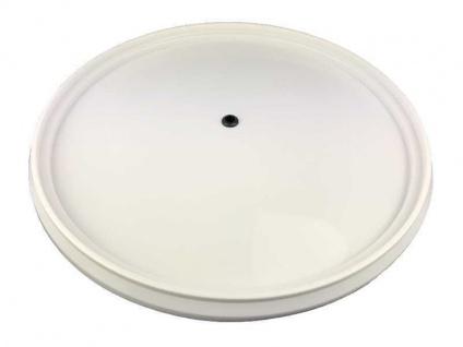 Deckel weiß für Gäreimer 30 Liter mit Dichtgummi Gastro Brennecke