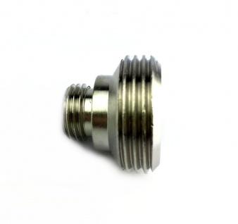 Adapter Reduzierstück Doppelnippel von 3/4 Zoll AG auf 1/4 Zoll AG Zapfanlage