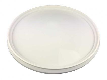 Deckel für Gäreimer 30 Liter ohne Bohrung weiß Gastro Brennecke