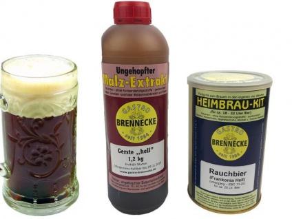 Brennecke Easy Kit Rauchbier untergärig 2, 7kg Malzextrakt gehopft Bier Brauen