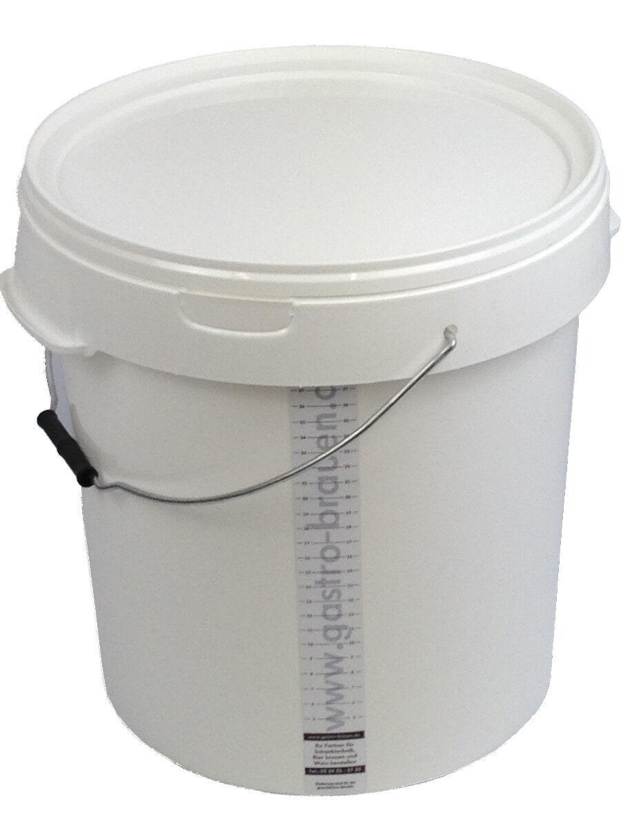 Gärbottich Gärfass kompletter Gärbehälter Gäreimer für 80 L Bier oder Wein