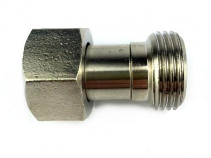 Adapter Verbinder von 3/4 Zoll IG sechskant auf 5/8 Zoll AG (X)