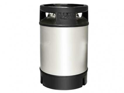 NC Keg Ball Lock Fass 9, 0 Liter gebraucht mit Deckel Produktbehälter Bierfass - Vorschau 1