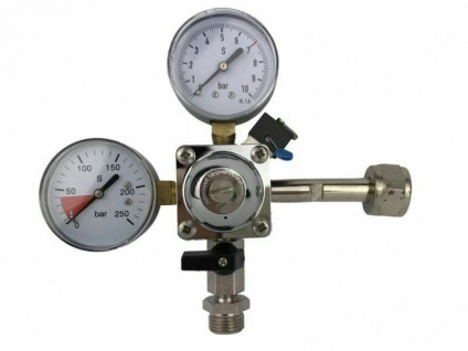 Kontrolluhr Manometer Kontrollmanometer 3 bar  3//4 Zoll Bier  DRUCKMINDERER