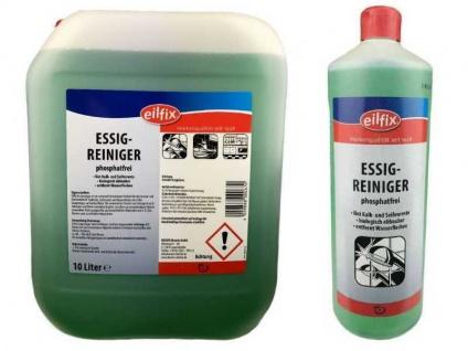 Eilfix Essigreiniger 1 Liter Flasche Universalreiniger Entkalker Reiniger