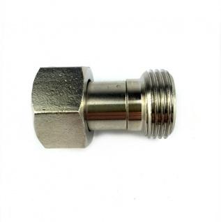 Adapter Verbinder von 5/8 Zoll IG auf 5/8 Zoll AG für Zapfanlage Druckregler X