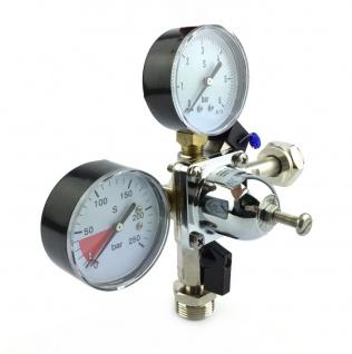 Co2 Druckminderer 1 leitig Manometer Schankanlage Zapfanlage Hauptdruckminderer