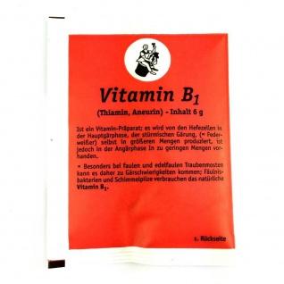 Arauner Vitamin B1 6 g Thyamin, Aneurin Vitaminpräparat zum Most Wein machen