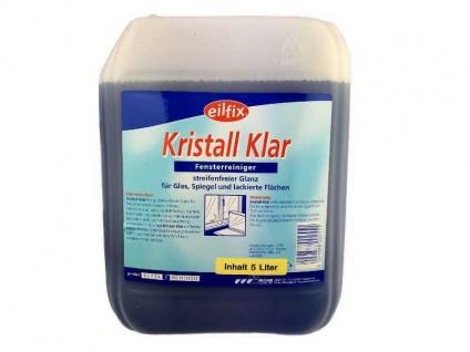Eilfix Kristall Klar 5 Liter Glasreiniger Fensterputzmittel Fensterreiniger
