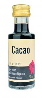 Lick cacao 20 ml Likörextrakt Kakao Aroma Essenz Likör selber machen Liquer