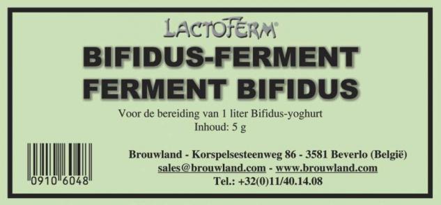 Bifidus-Ferment (grünes Etikett) Joghurtkultur 5g 1 Liter Joghurt selber machen