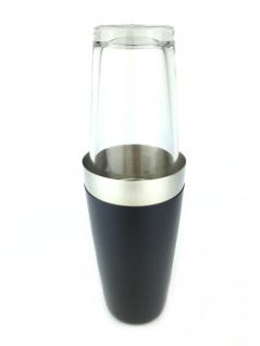 Profi Boston Cocktail Shaker aus Edelstahl m. Glas Kälteschutz Shaken Mixen Bar
