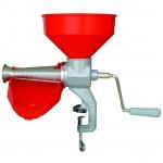 Manuelle Tomatenmühle Beerenmühle mit Edelstahlsieb 1, 5 mm mit Trichter