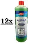 12x Eilfix Gläserrein 1 Liter flüssig Gläserreinigung Gläser reinigen Spülbecken