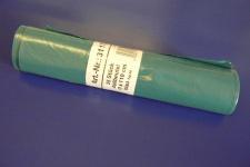 25x Müllbeutel blau 120 L 70x110 cm Müllsäcke Abfallbeutel Abfallsäcke Liter