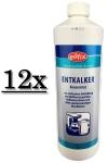 12x 1 Liter Entkalker konzentrat Kalklöser flüssig Eilfix für Kaffeemaschine Bad