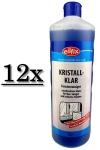 12x Eilfix Kristall Klar 1 Liter Glasreiniger Fensterputzmittel Fensterreiniger