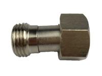 Adapter Verbinder von 3/4 Zoll IG sechskant auf 1/2 Zoll AG (X)