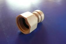 Anschluß 1/2 Zoll auf 5/16 Zoll 8mm Steckdorn DMfit Zapfanlage Schlauch 4x8