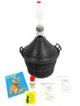 Starterset zum Wein selber machen Gärballon 20L (klein) Set Weinset Geschenk