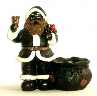 Deko Weihnachtsmann Figur Weihnachtsdeko Nikolaus Dekofigur Schoko Glocke Sack