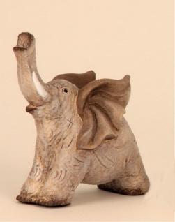Elefant Dekofigur Tierfigur Skulptur abstrakt Elefanten Deko Figur Afrika