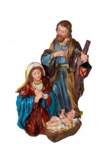 Heilige Familie Weihnachts Krippenfiguren Krippe Deko Figur Skulptur Statue