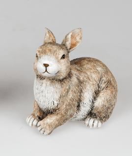 Osterhase Hase Dekohase Oster Deko Garten Tier Figur Osterei Ei Skulptur Statue