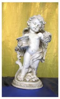 Engel Dekoengel Schutzengel Engelfigur Dekofigur Skulptur Figur Traube Vase Deko