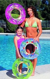 Schwimmring Schwimmreifen blau 56 cm Motiv Schnecken