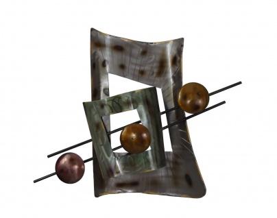 Wanddeko Metall Elemente Wandbild Deko Bild Artikel Wand Hänger Wandschmuck