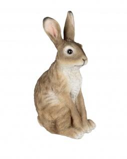 Hase Dekohase Kaninchen Oster Deko Garten Tier Figur Osterei Ei Skulptur Statue