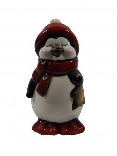 Pinguin Königspinguin Skulptur Deko Garten Wasser Tier Teich Figur Artikel Vogel