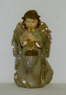 Engel Schutzengel Dekoengel Engelfigur Skulptur Grabschmuck Weihnachts Dekofigur