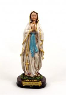 Heilige Madonna Maria Lourdes Mutter Gottes Deko Figur Skulptur Statue Kruzifix
