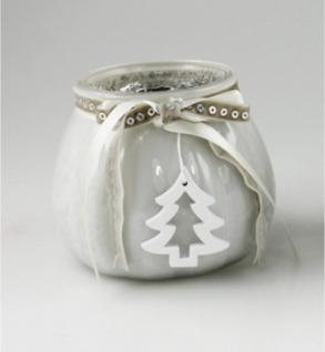 Windlicht Deko Glas Teelichthalter Kerzenhalter Leuchter Kerzenhalter Kugel Vase
